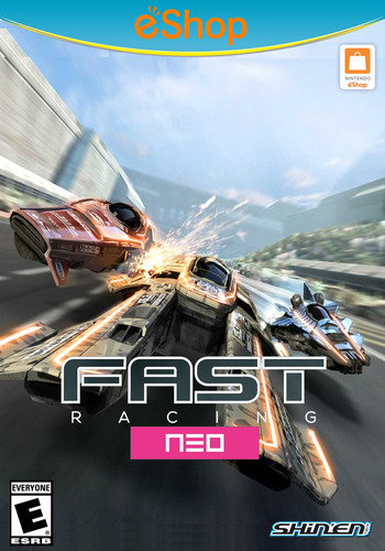 Fast Racing NEO WiiU coverM2 (WFSE)