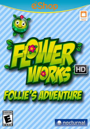 Flowerworks HD: Follie's Adventure WiiU coverM2 (WFWE)