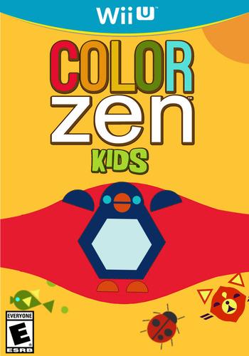 Color Zen Kids WiiU coverM2 (WKDE)