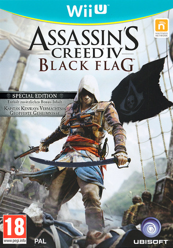 Assassin's Creed IV: Black Flag WiiU coverMB (ASBP41)