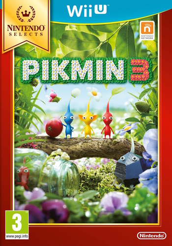 Pikmin 3 WiiU coverMB (AC3P01)