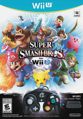 Super Smash Bros. for Wii U WiiU coverMB (AXFE01)