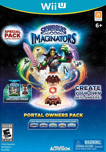 Skylanders Imaginators WiiU coverMB (BL6E52)