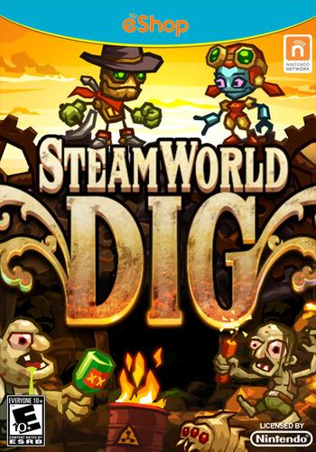 SteamWorld Dig WiiU coverMB2 (ADGE)