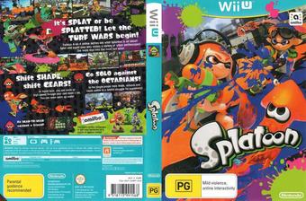 Splatoon WiiU cover (AGMP01)