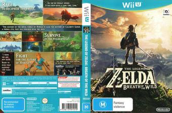 The Legend of Zelda: Breath of the Wild WiiU cover (ALZP01)