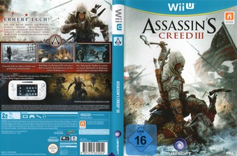 Assassin's Creed III WiiU cover (ASSP41)