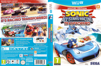 Sonic & All-Stars Racing Transformed WiiU cover (AS2P8P)