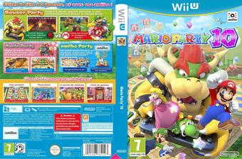 Mario Party 10 pochette WiiU (ABAP01)
