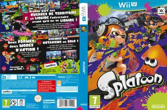 Splatoon pochette WiiU (AGMP01)