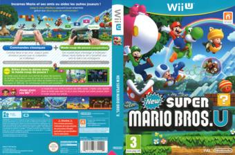 New Super Mario Bros. U pochette WiiU (ARPP01)