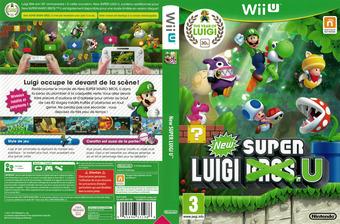 New Super Luigi U pochette WiiU (ARSP01)