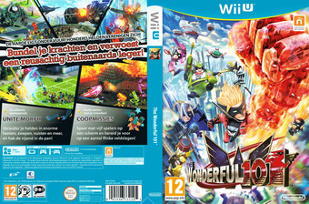 The Wonderful 101 WiiU cover (ACMP01)