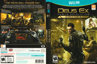Deus Ex: Human Revolution - Director's Cut WiiU cover (ADXEGD)