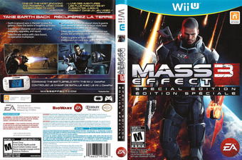 Mass Effect 3: Special Edition WiiU cover (AMEE69)