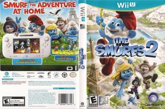 The Smurfs 2 WiiU cover (ASUE41)