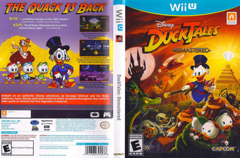 DuckTales: Remastered WiiU cover (WDKE08)