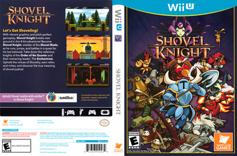 Shovel Knight WiiU cover (WKNEAY)