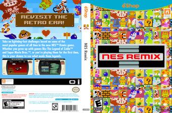 NES Remix eShop cover (WMGE)