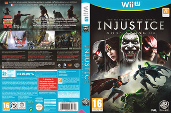 Injustice: Götter Unter Uns WiiU cover (AJSPWR)