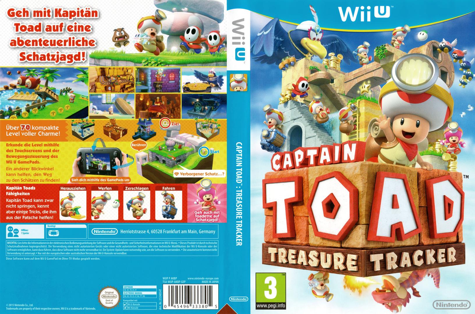 Captain Toad: Treasure Tracker WiiU coverfullHQ (AKBP01)
