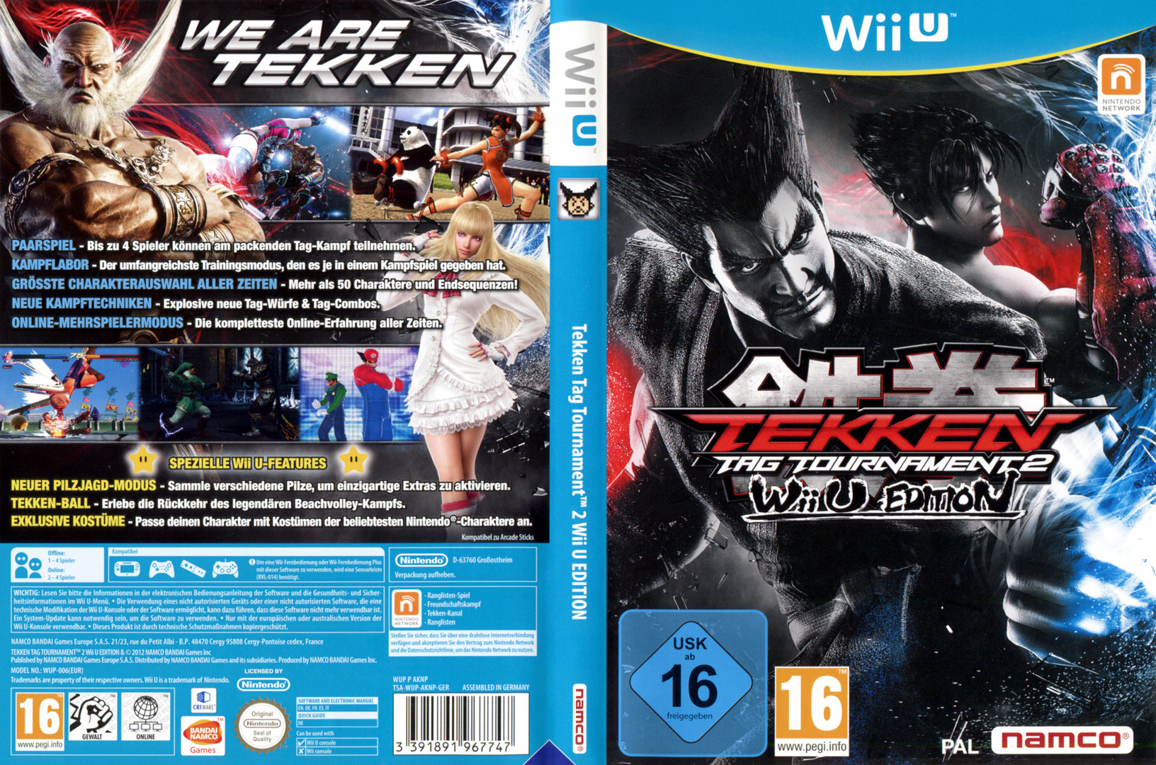 Tekken Tag Tournament 2 WiiU coverfullHQ (AKNPAF)