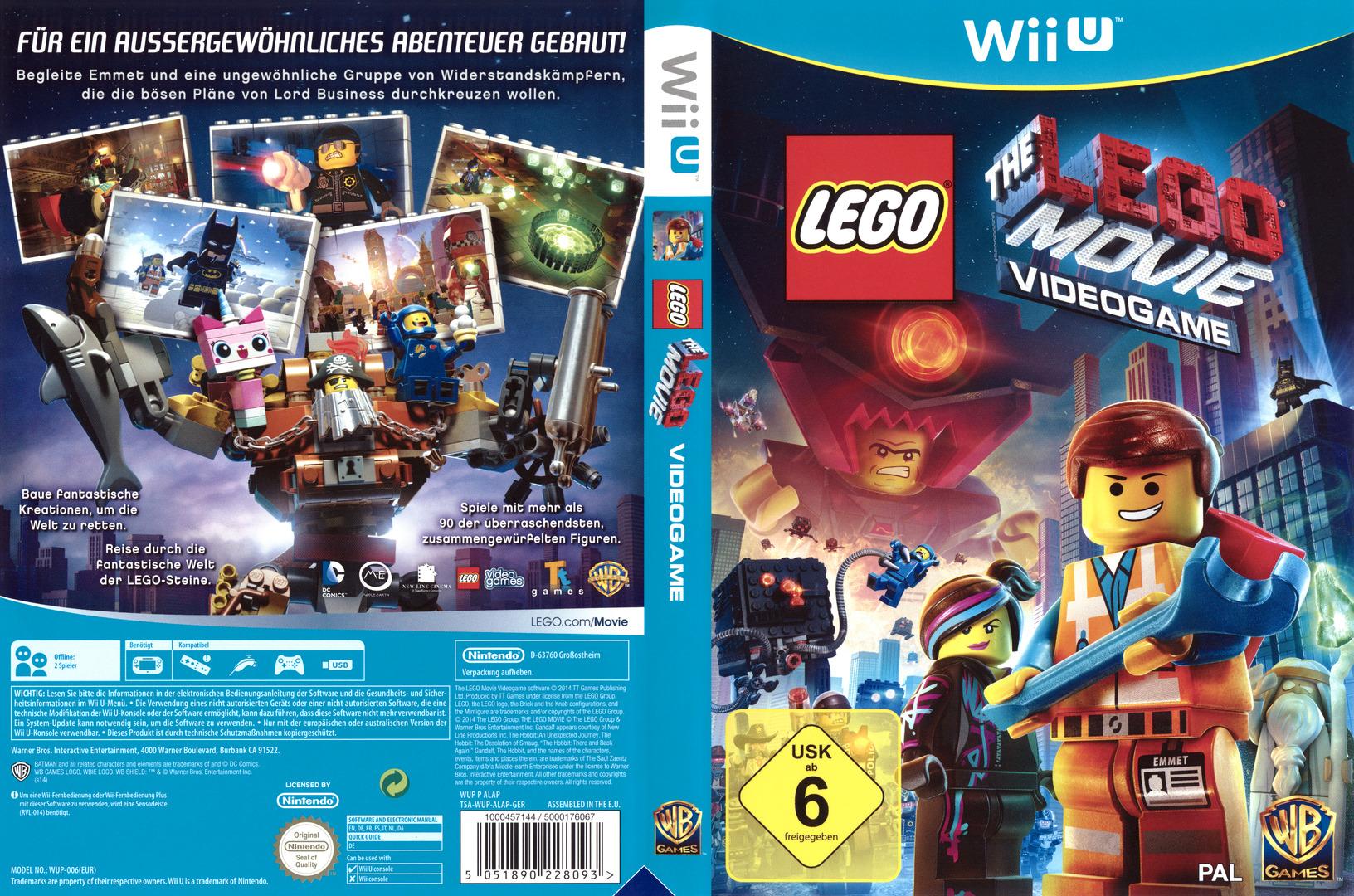 The LEGO Movie Videogame WiiU coverfullHQ (ALAPWR)