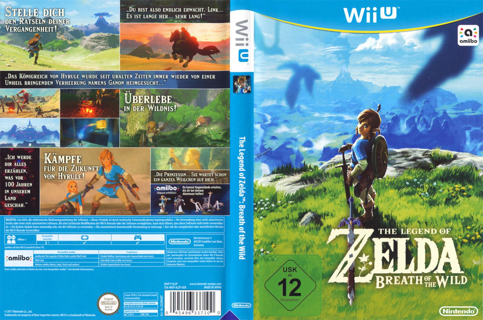 The Legend of Zelda: Breath of the Wild WiiU coverfullHQ (ALZP01)