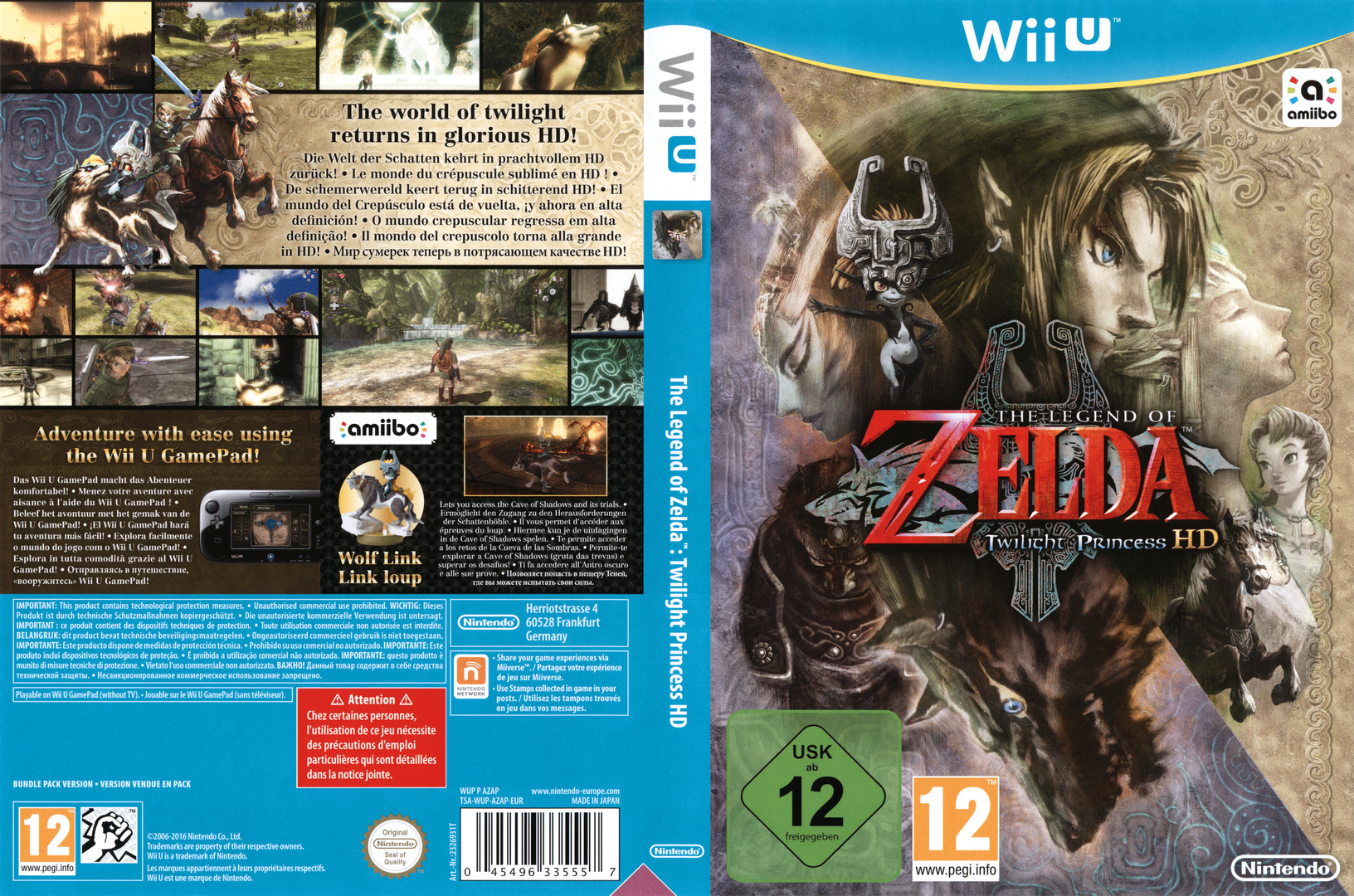 The Legend of Zelda: Twilight Princess HD WiiU coverfullHQ (AZAP01)