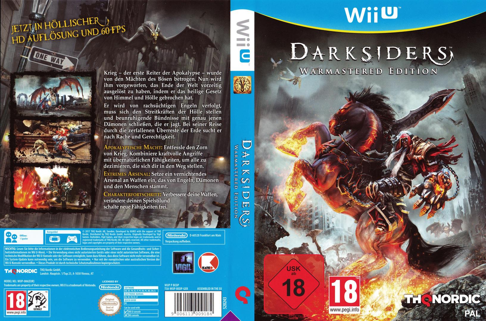 Darksiders - Warmastered Edition WiiU coverfullHQ (BEDP6V)