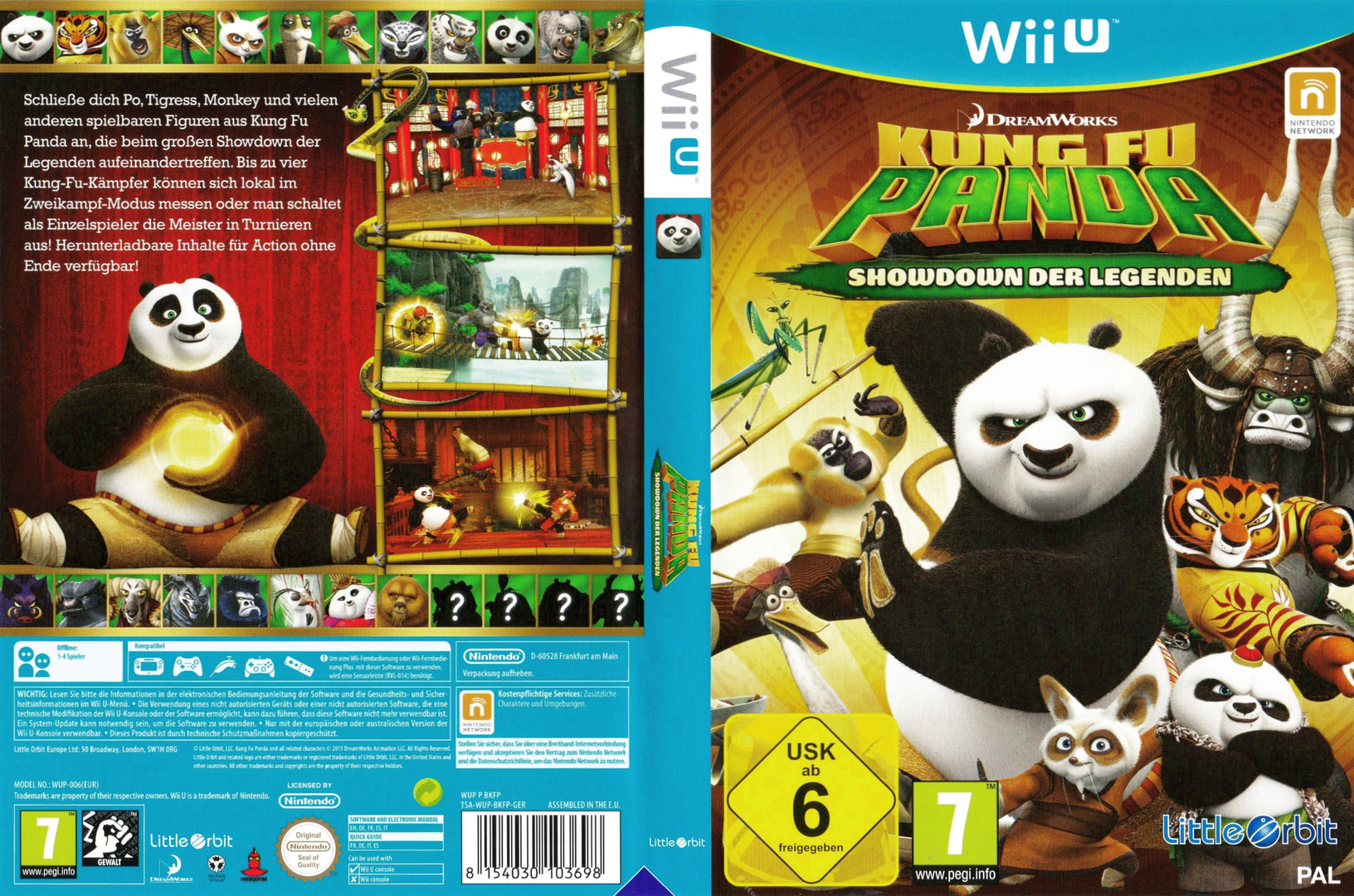 Kung Fu Panda: Showdown der Legenden WiiU coverfullHQ (BKFPVZ)