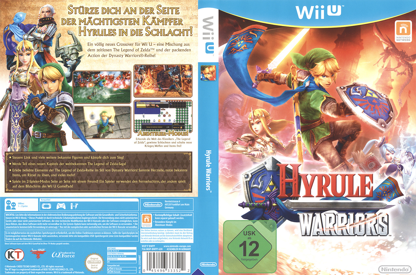Hyrule Warriors WiiU coverfullHQ (BWPP01)