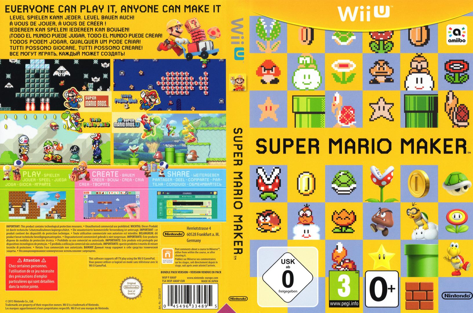 Super Mario Maker WiiU coverfullHQ (AMAP01)
