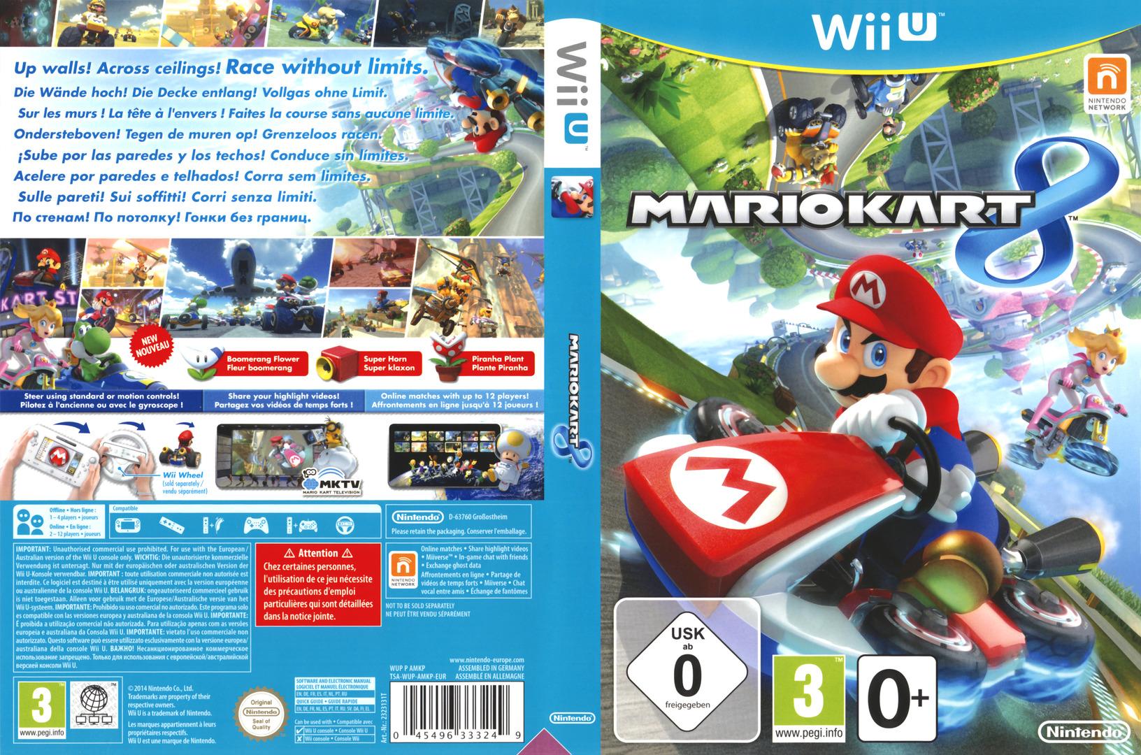 Mario Kart 8 WiiU coverfullHQ (AMKP01)