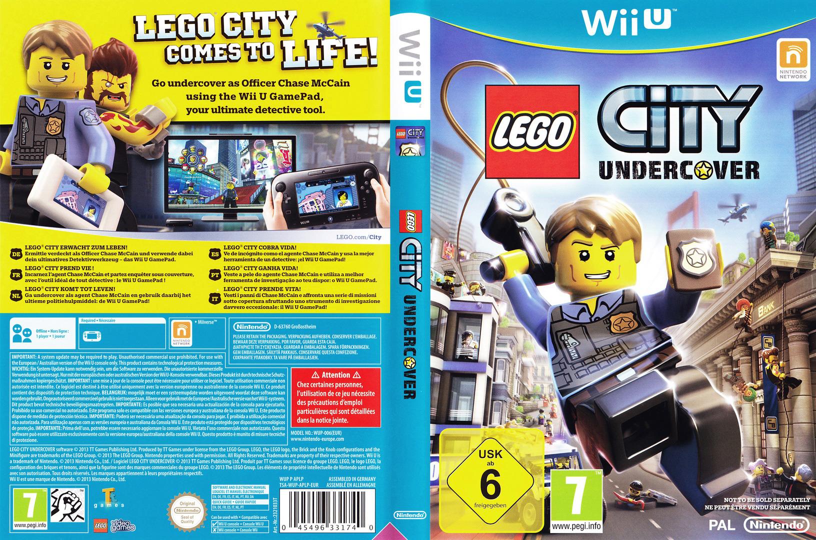 LEGO City Undercover WiiU coverfullHQ (APLP01)