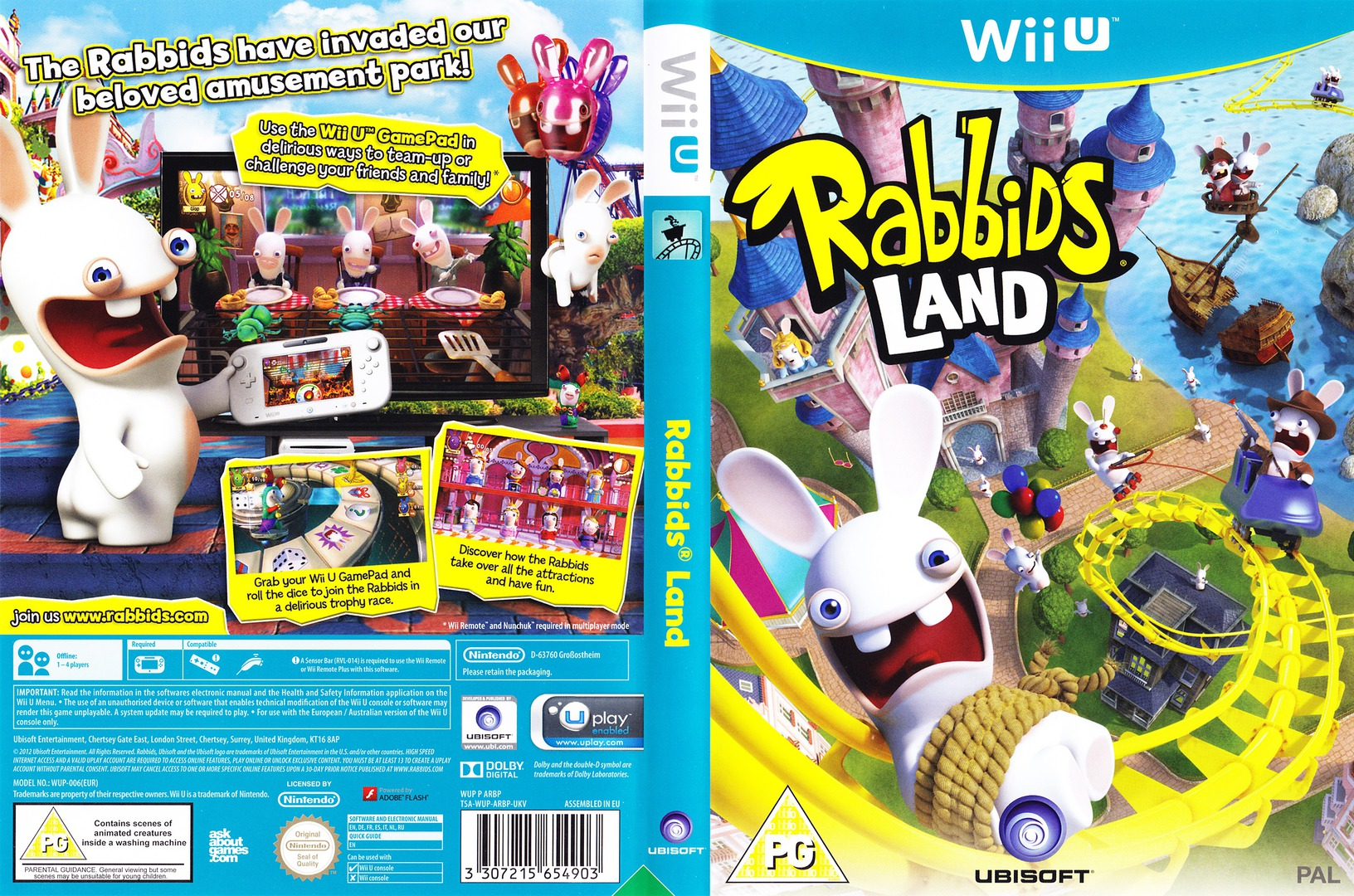 Rabbids Land WiiU coverfullHQ (ARBP41)