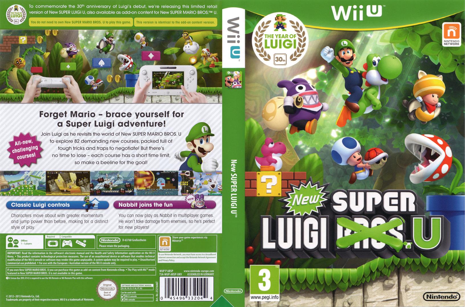 New Super Luigi U WiiU coverfullHQ (ARSP01)