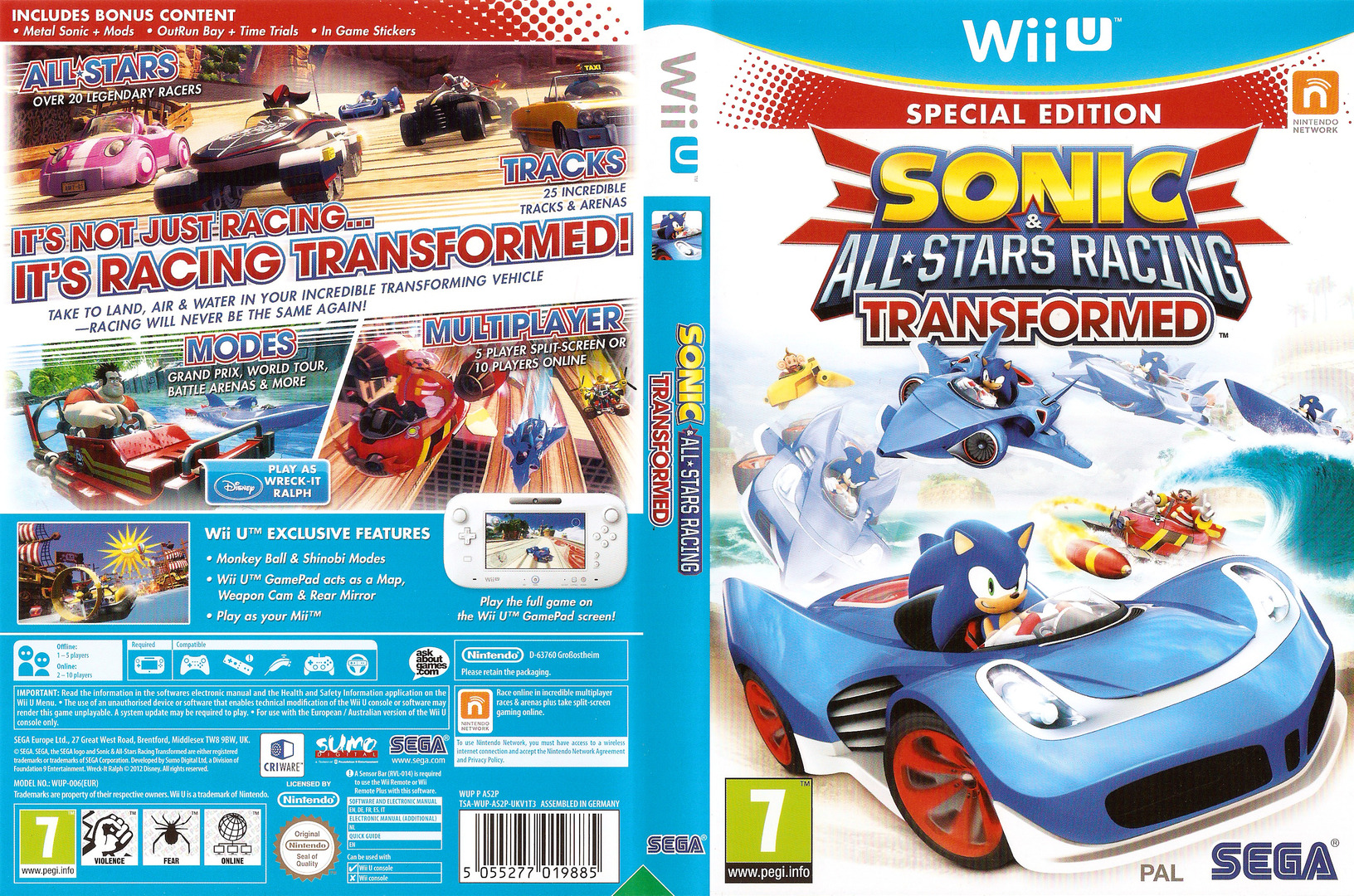 Sonic & All-Stars Racing Transformed WiiU coverfullHQ (AS2P8P)