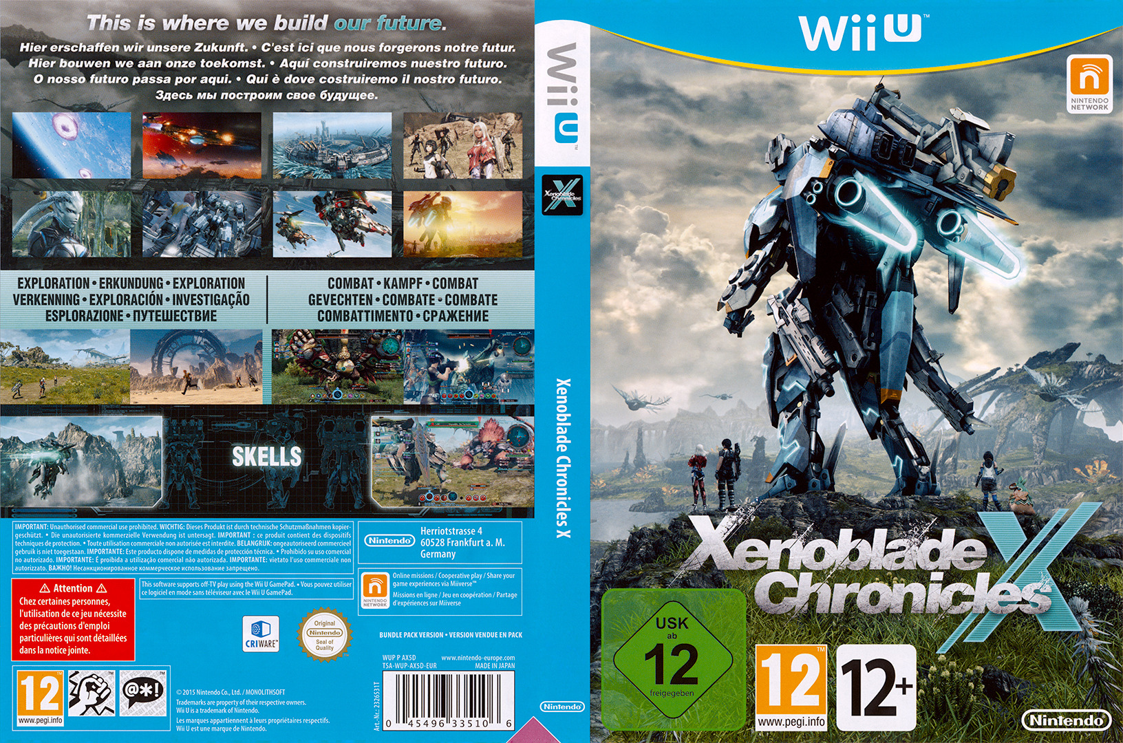 Xenoblade Chronicles X WiiU coverfullHQ (AX5D01)