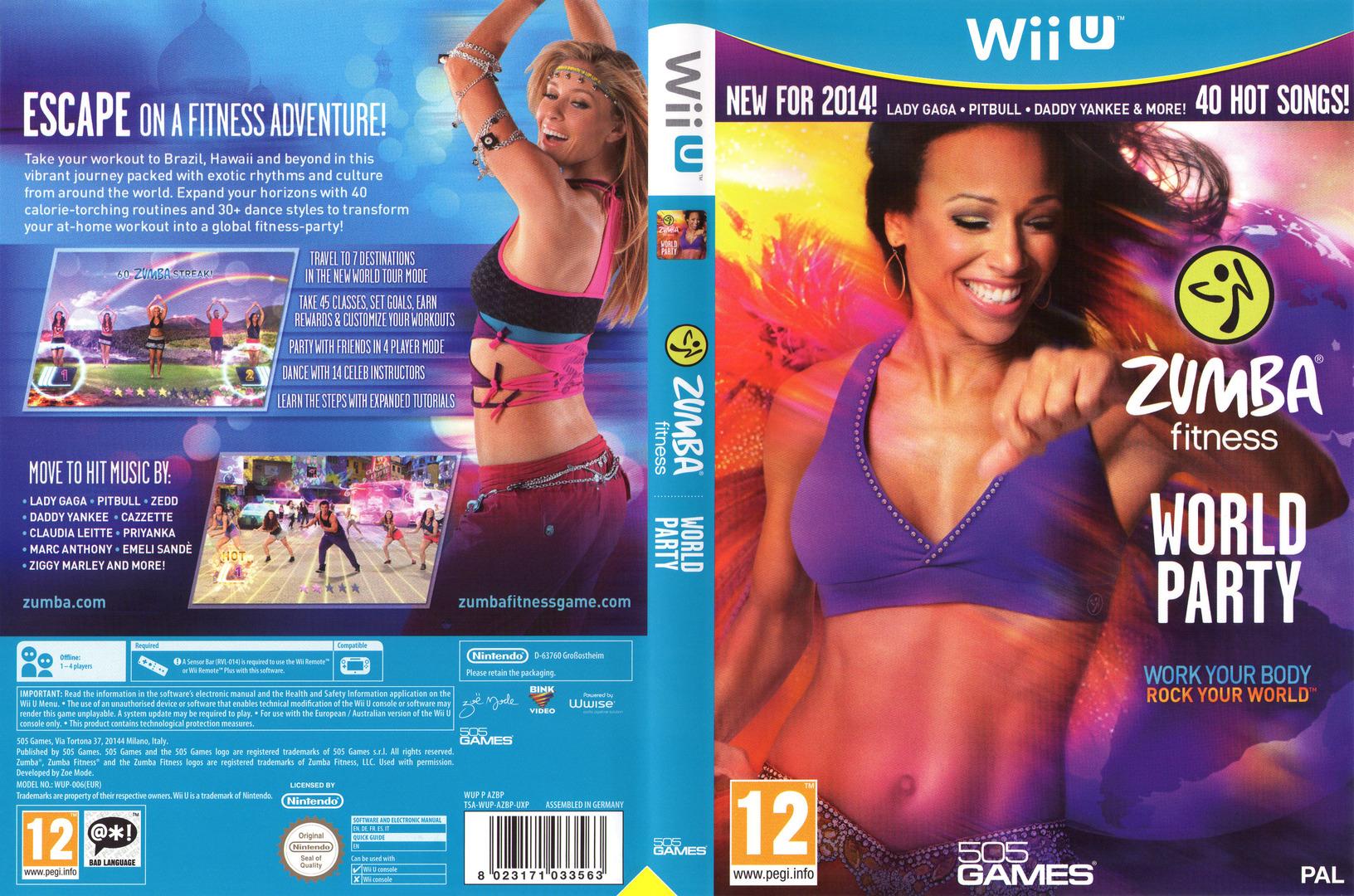 Zumba Fitness World Party WiiU coverfullHQ (AZBPGT)