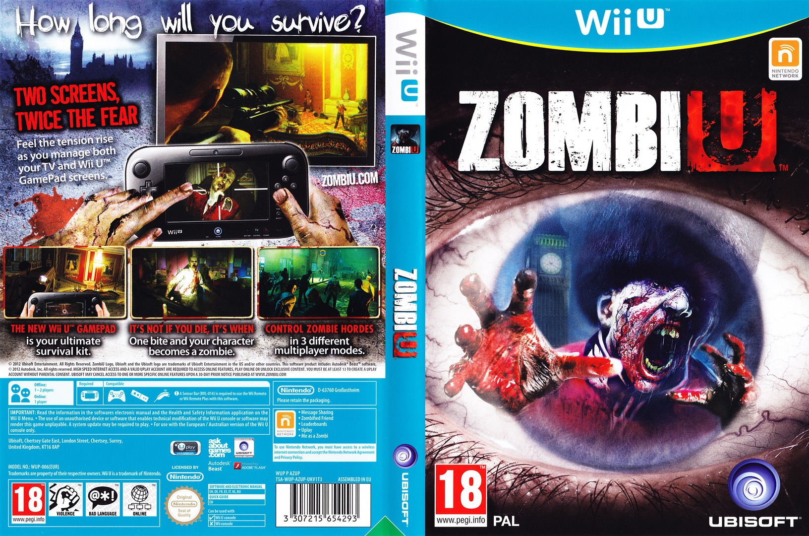 ZombiU WiiU coverfullHQ (AZUD41)