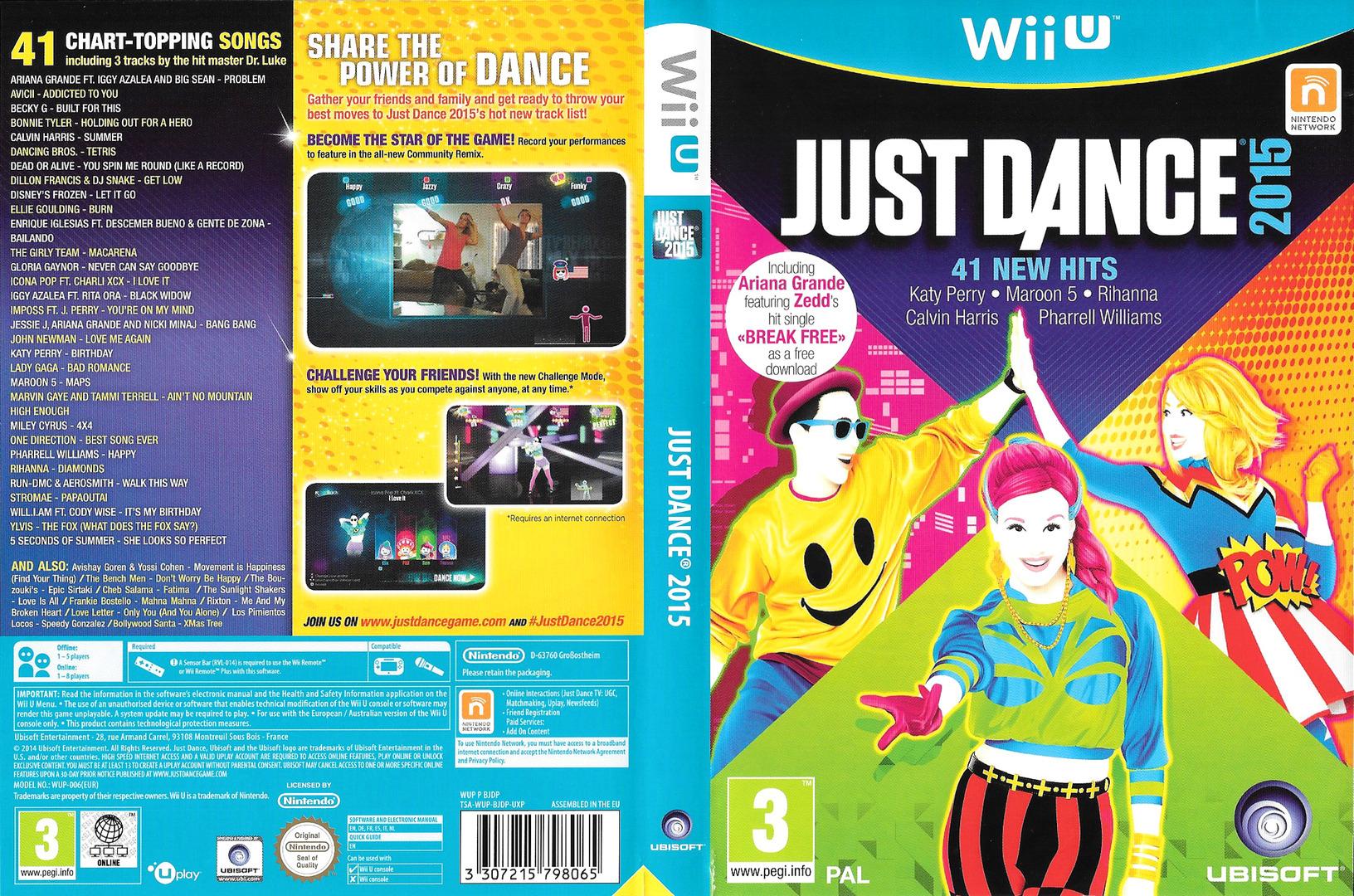 Just Dance 2015 WiiU coverfullHQ (BJDP41)