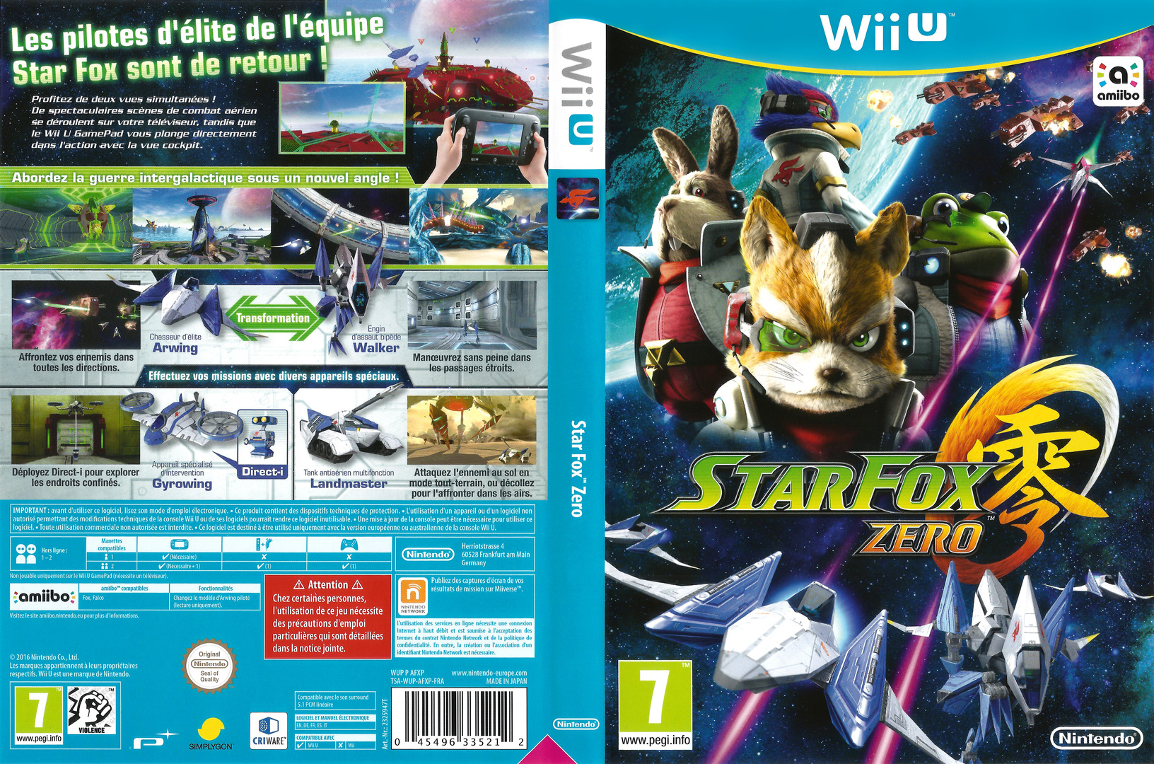Star Fox Zero WiiU coverfullHQ (AFXP01)
