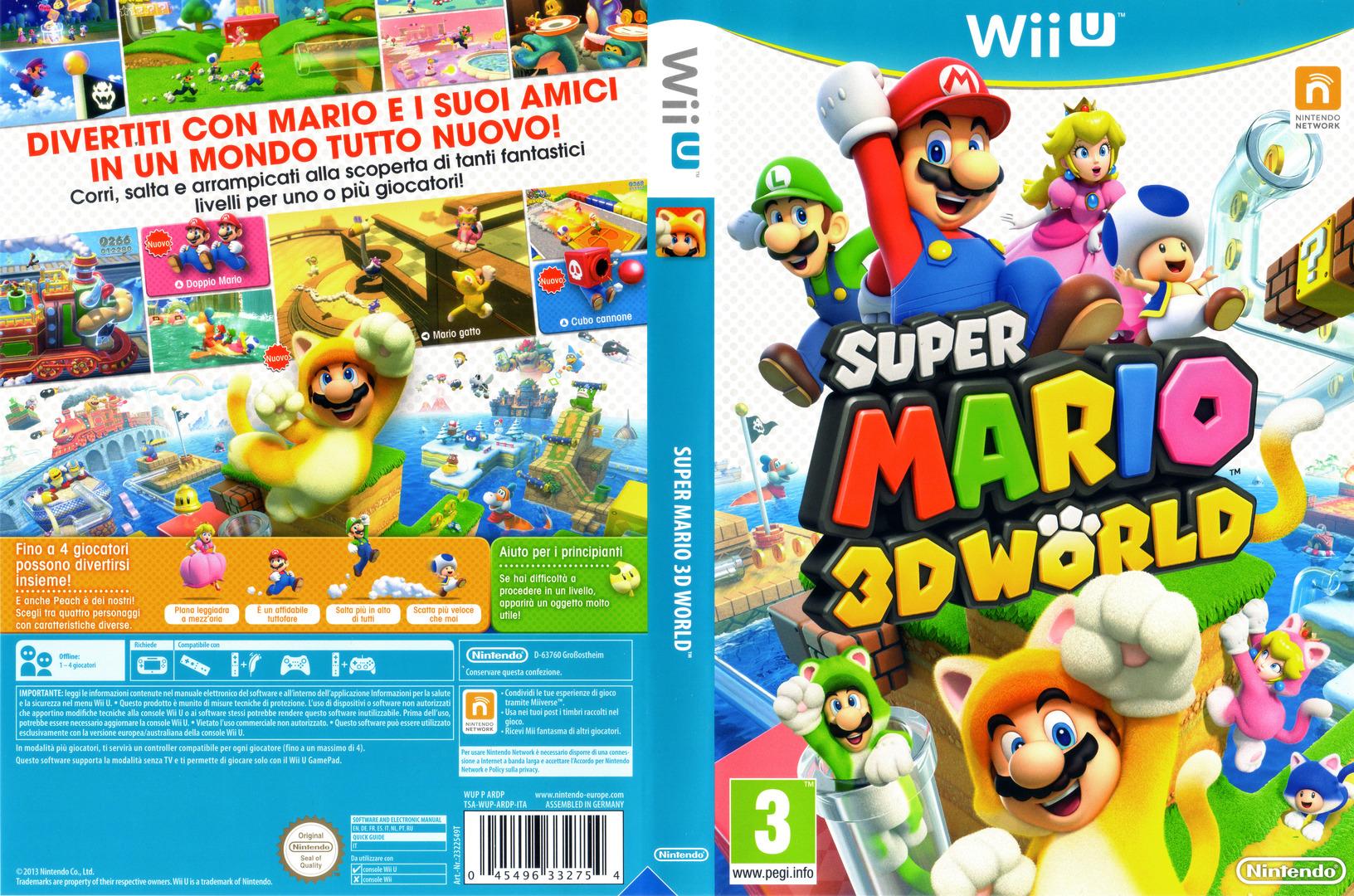 Super Mario 3D World WiiU coverfullHQ (ARDP01)