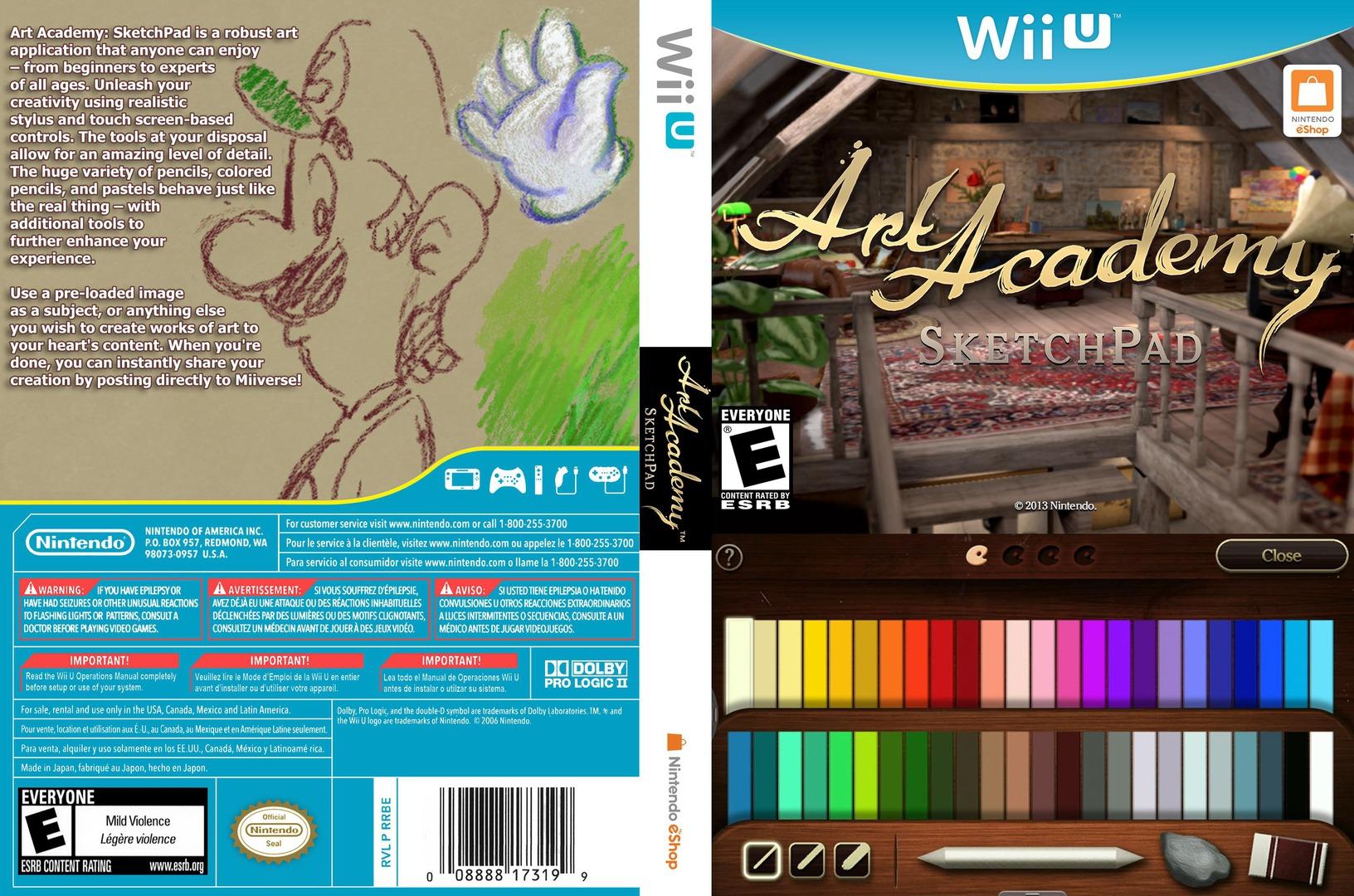 Art Academy: SketchPad WiiU coverfullHQ (AA9E)