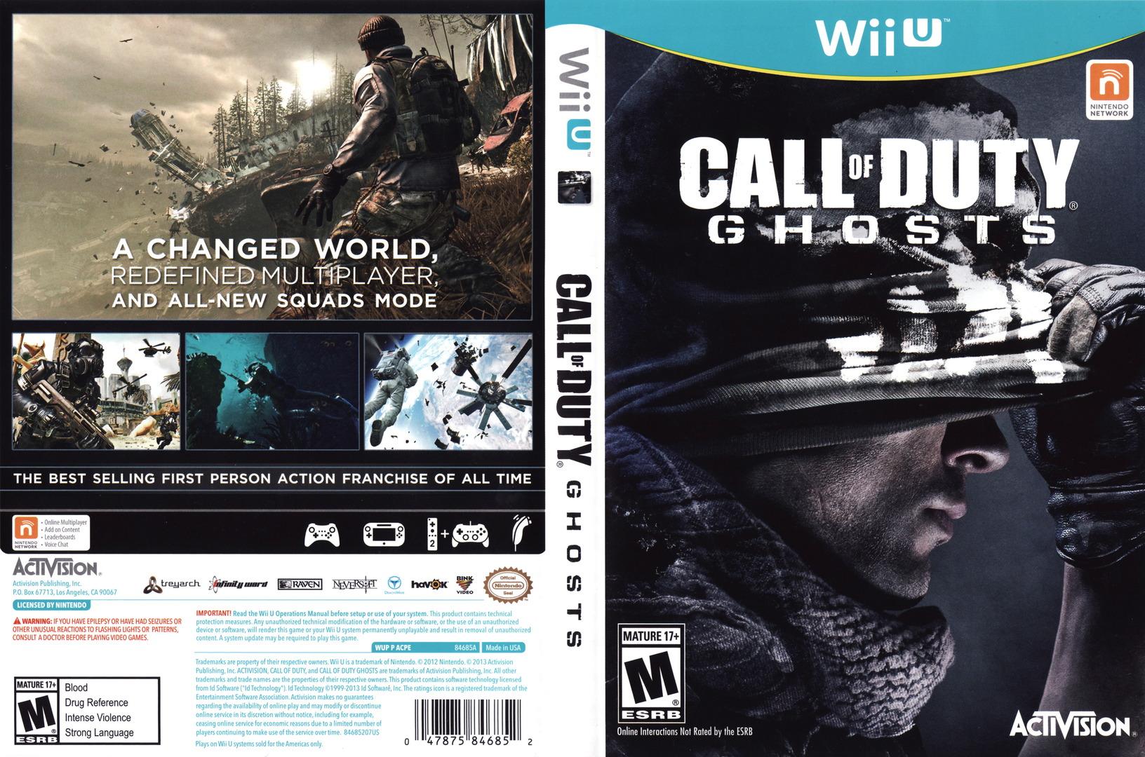 Call of Duty: Ghosts WiiU coverfullHQ (ACPE52)