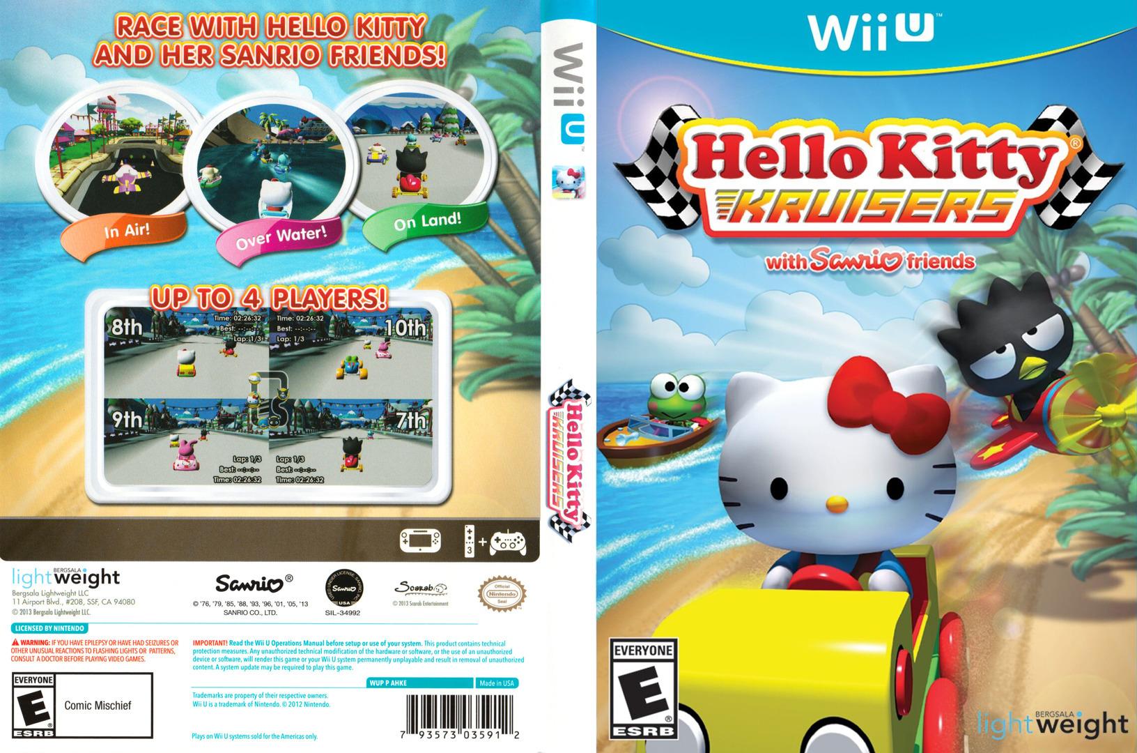 Hello Kitty Kruisers WiiU coverfullHQ (AHKEYM)