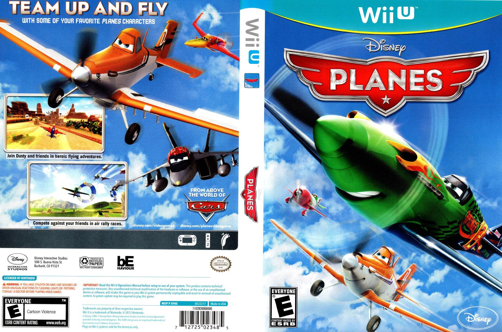 Disney Planes WiiU coverfullHQ (APAE4Q)