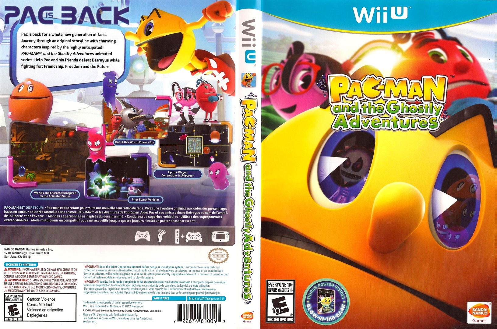 Pac-Man and the Ghostly Adventures WiiU coverfullHQ (APCEAF)