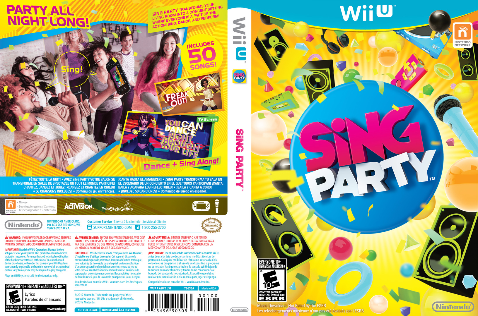 SiNG Party WiiU coverfullHQ (ASWE01)
